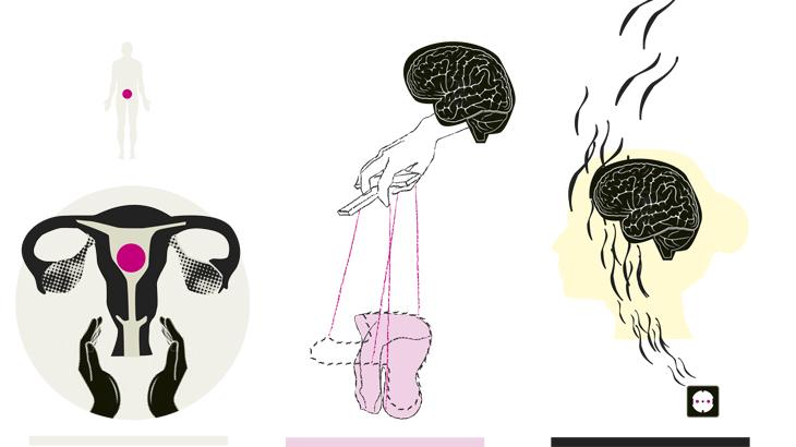 Entwurf Illustration Diagnose